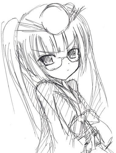 【パズドラ】メガネツクヨミ描いてみた【リクエストイラスト】